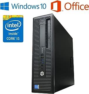5%還元 キャッシュレス還元 HP PRODESK 600 G1 SFF【Microsoft Office 2019搭載/最新OS Win10バージョン1903搭載/第四世代Core i5-4570 3.2GHz/メモリ8GB/HDD500GB/DVD-ROM】中古デスクトップ パソコン