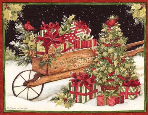 Lang, Weihnachtskarten, Design von Susan Winget, 18 Karten mit 19 Umschlägen, 13,5 x 17,8 cm