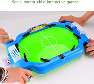 Wenje Multifunction Mini Table Football Shoot Indoor Game Portable Desktop Catapult Soccer Board Game for Children Sports Parent-Child Interactive Toys Gifts