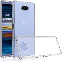 GETE Sony Xperia 10 Plus (XA3 Ultra) Invisible Armor Xtreme Slim, Clear, Soft, Lightweight, Shock Absorbing TPU Rubber Bumper Case (2019) 6.5