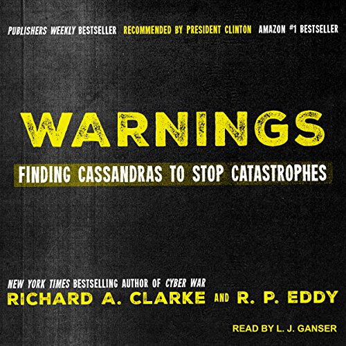 Warnings audiobook cover art