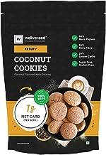 Ketofy - Coconut Keto Cookies (200g) | Bakery Style Gourmet Cookies | 100% Sugar Free | Gluten Free