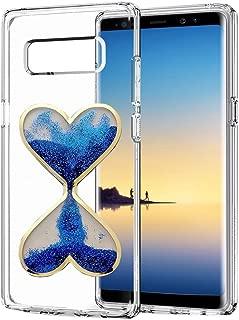 Alcatel Fierce 4 Case, Alcatel Allura Case, Alcatel Pop 4 Plus Case,3D Handmade Glitter Sandglass Hourglass Design Clear Anti-scrtach Shockproof Acrylic + TPU Soft Bumper Case (C00025)