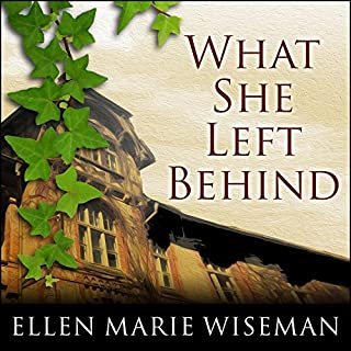 What She Left Behind                   By:                                                                                                                                 Ellen Marie Wiseman                               Narrated by:                                                                                                                                 Tavia Gilbert                      Length: 11 hrs and 56 mins     2,862 ratings     Overall 4.2