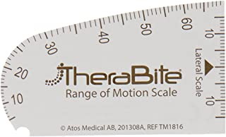 Sammons Preston TheraBite Set of 150 Range of Motion Scales, Use with Jaw Motion Rehab System, Mouth Surgery Recovery Aid to Help with Jaw Pain & Extension, Physical Therapy for Trismus & Hypomobility