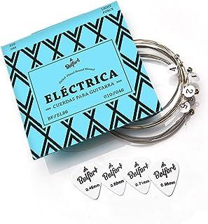 Anuncio patrocinado: BELFORT® Juego de cuerdas guitarra electrica - Cuerdas de guitarra electrica - BONUS: 4 púas + Escuel...