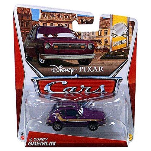 Disney Pixar Cars J. Curby Gremlin (Lemons Series, #1 of 7) - Voiture Miniature Echelle 1:55