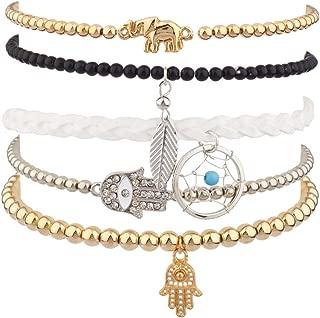 Lux Accessories Women's Arm Candy Multi Bracelet Set