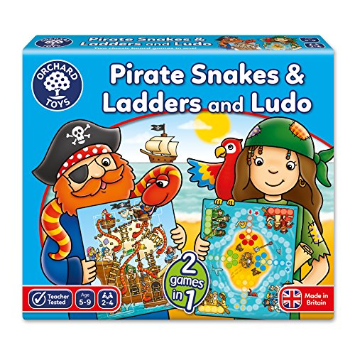 Pirate Snakes and Ladders en Ludo Engelse versie