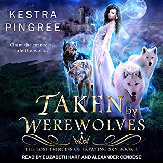 Taken by Werewolves audiobook cover art