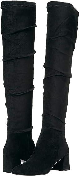 Black Suedette