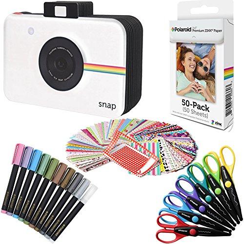 Polaroid 5 x 7,5 cm Premium Zink Fotopapier (50 Blatt) + Sammelalbum-Kit (kompatibel mit Polaroid Mint, Snapshot, Touch, Zip).