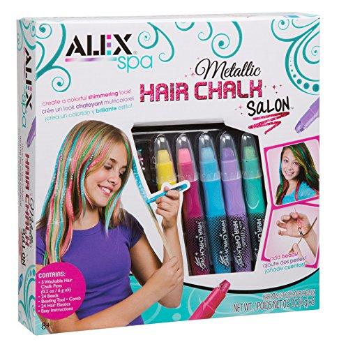 Alex Spa Metallic Hair Chalk Salon Girls Fashion Activity