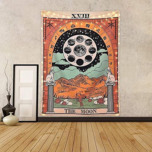 Tarot Tapestry The Moon Tarot Tapetsry Tapetsry...