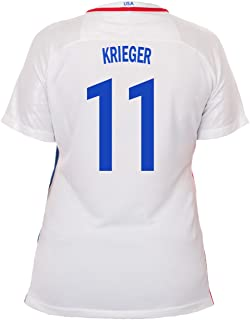 Nike Krieger #11 USA Home Soccer Jersey Rio 2016 Olympics Women's
