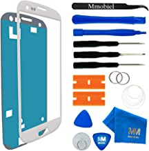 MMOBIEL Front Glass Replacement Compatible with Samsung Galaxy S3 (White) Display Touchscreen incl Tool Kit