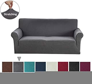 Argstar Jacquard Sofa Slipcover Couch Cover (Extra Large) Gray