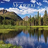 Montana Wild & Scenic 2020 12 x 12 Inch Monthly Square Wall Calendar, USA United States of America Rocky Mountains State Nature (English, French and Spanish Edition)
