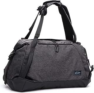 Ativafit Sport Gym Bag Sports Duffel Bag LuggageBag Lightweight Travel Backpack Weekender Bag With Wet Pocket & Shoes Compartmentfor Men and Women Black