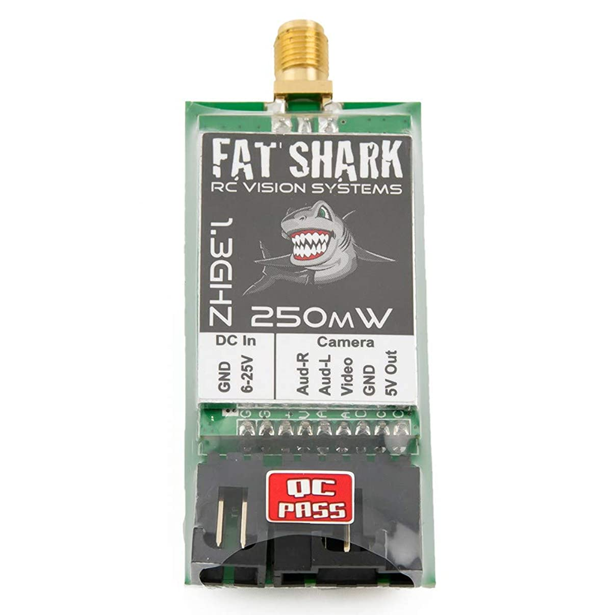 Fat Shark FSV2468-1G3 250mW TX 1.3GHz 2CH Transmitter(US Only)