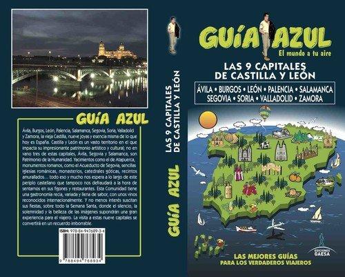 Capitales de Castilla León: Ávila, Burgos, León, Palencia, Salamanca, Segovia, Soria, Valladolid y Zamora