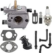 Venseri WT-194 Carburetor with Gasket Fuel Line Filter Spark Plug for Stihl 024 026 MS240 WT-403A WT-403B Chainsaw 1121 120 0610