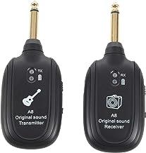 Iycorish UHF Guitar Inalambrico Sistema Transmisor Receptor Incorporado Recargable