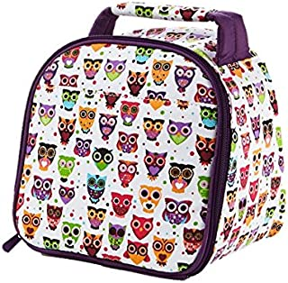 Fit & Fresh Kids' Gabby Insulated Lunch Bag with Exterior Pocket and Full Zip Closure, Versatile School Lunch Box for Girl...