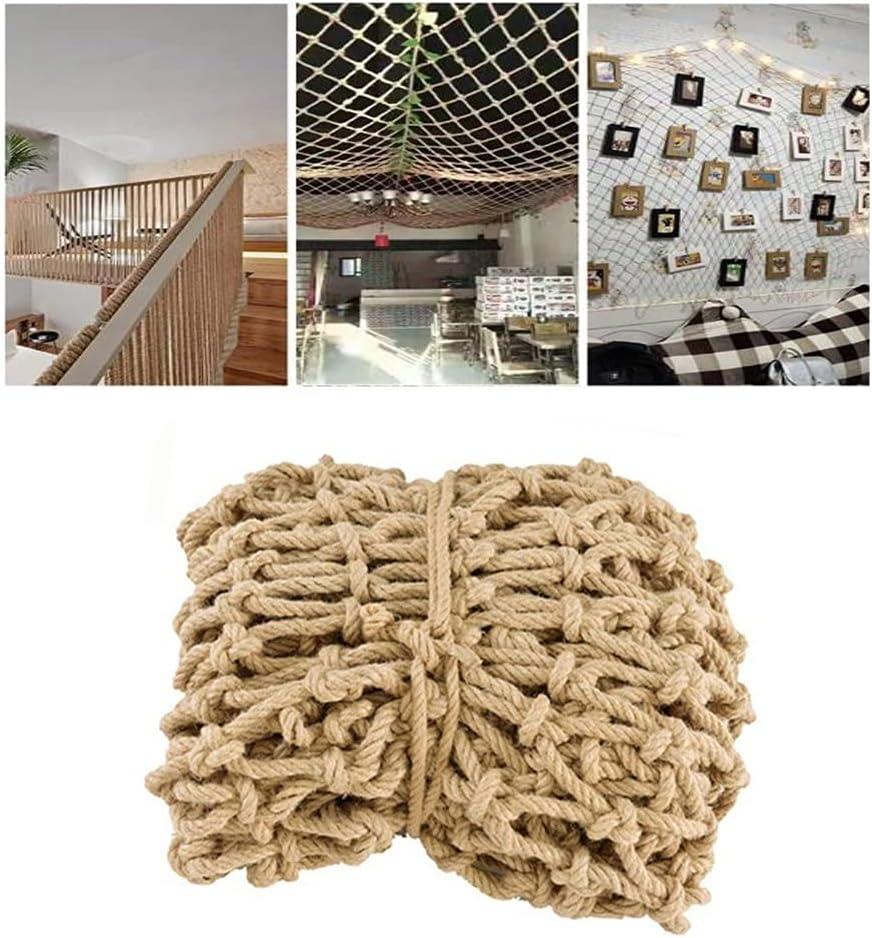 Child Safety Net Hemp Rope Grid Decoration Net Ceiling Shed Net