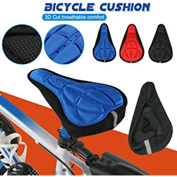 Sunwan - Funda para sillín de bicicleta, gel suave, para ...