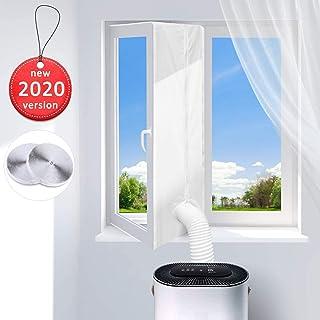 Dr.meter Fensterabdichtung für Mobile Klimageräte, Klimaanlagen, Wäschetrockner, Ablufttrockner, Fenster abzudichten Hot Air Stop zum Anbringen an Fenster, Dachfenster, Flügelfenster