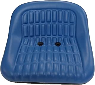 Seat Blue Vinyl Fits: Ford/New Holland Tractor 2000, 3000, 4000, 5000 (All Late) - CS668-8V