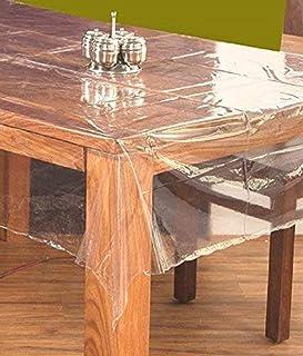 Kuber Industries PVC Centre Table Cover Set - Transparent