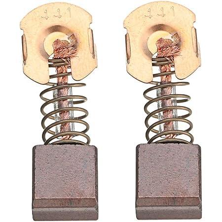 YINETTECH 2 Paire Balais de Charbon Cb-442 194928-3 Compatibles pour Makita Bhr261 Bhr262 Dhr264 Buh650 Rechange Outils /Électriques