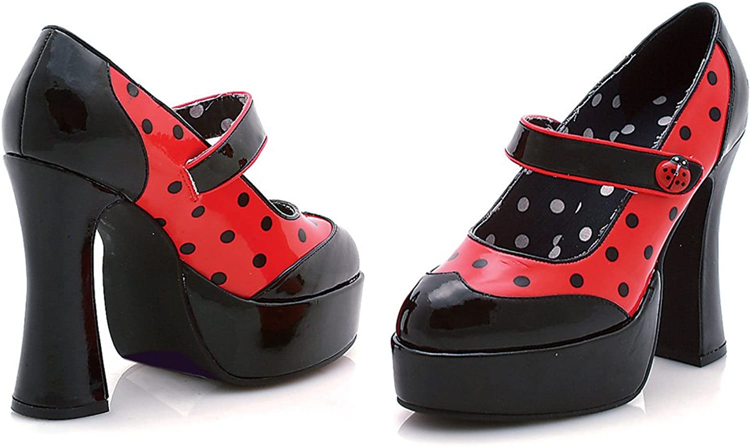 The Sexy Ladybug Platform shoes by Ellie