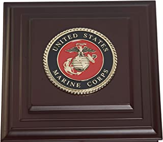 Allied Frame US Marine Corps Medallion Desktop Box