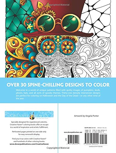 Creative Haven Eerie Entangled Art Coloring Book (Creative Haven Coloring Books)