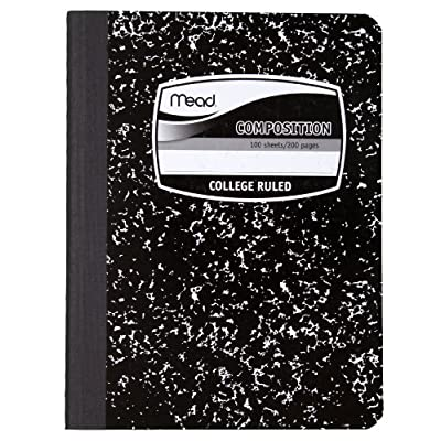 composition notebook college rule, End of 'Related searches' list