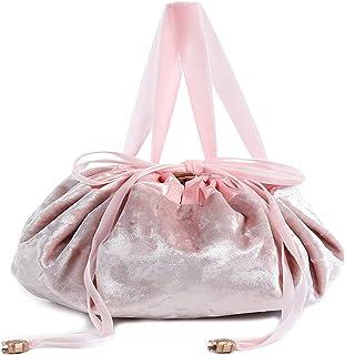حقيبة مكياج برباط سحب، حقيبة تخزين للسفر، حقيبة مجوهرات، حقيبة ادوات العناية الشخصية والزينة