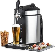 H.Koenig BW1880 Tirador de Cerveza Compatible, 65 W, 5 kg, Acero Inoxidable, Negro/Gris