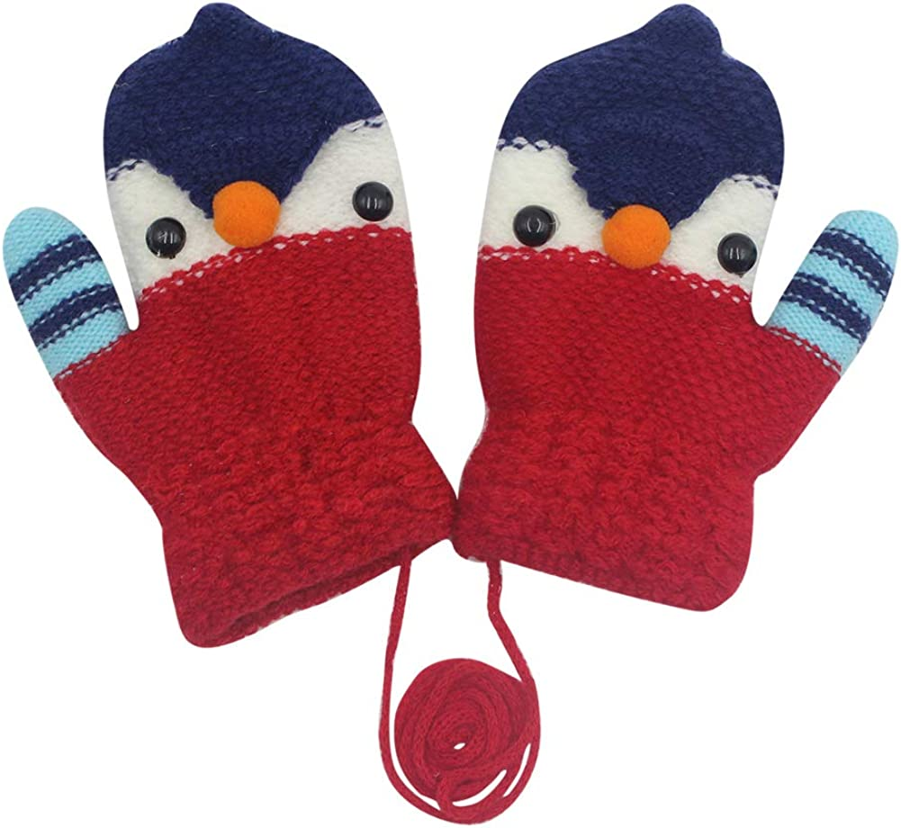Ranking TOP5 RARITY-US Unisex Warm Soft Winter Knit for Boys Girl Gloves Dallas Mall Kids