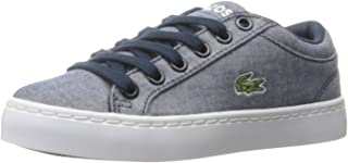 Lacoste Kids' Straightset Lace 117 3 Cac Sneaker