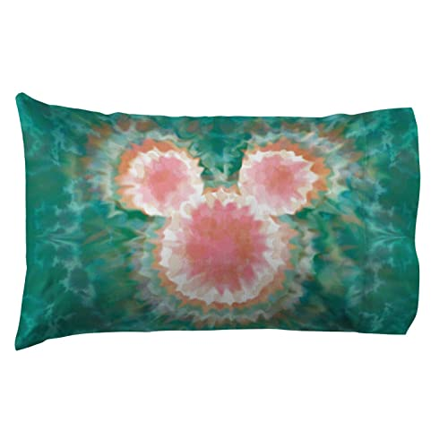 5ed1afd13465 Jay Franco Disney Mickey Mouse   Minnie Mouse Tie Dye 1 Pack Pillowcase -  Double-