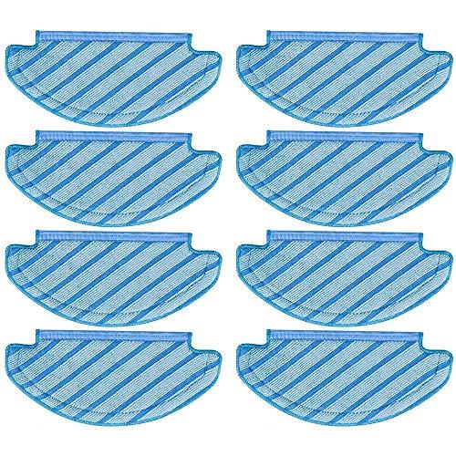 InFreesh 8 unidades de paños de limpieza de repuesto para E