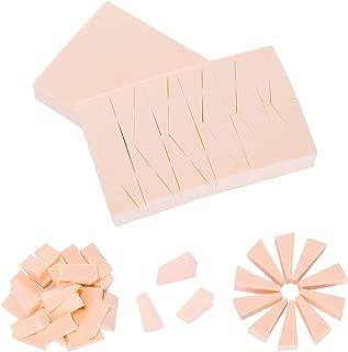 Charmine 48 Pcs Makeup Wedges Sponge Foundation Base Blender Non Latex Oil Resistant for All Skin Types(Color)