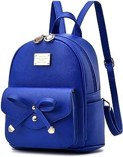 Women Girls Cute Mini Leather Backpacks Fashion Small Daypacks Purses Shoulder Bag