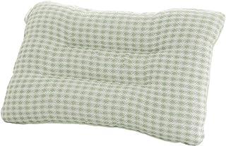 LHLHM Almohada Asiática Hierba Tejiendo Doble Uso Almohada Verano Refrescante Verano Fresco Adulto Almohada Verde 45X68Cm
