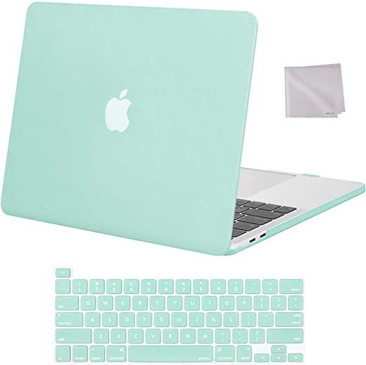 MOSISO Compatible with MacBook Pro 13 inch Case 2016-2020 Release A2338 M1 A2289 A2251 A2159 A1989 A1706 A1708, Plastic Hard Shell Case & Keyboard…