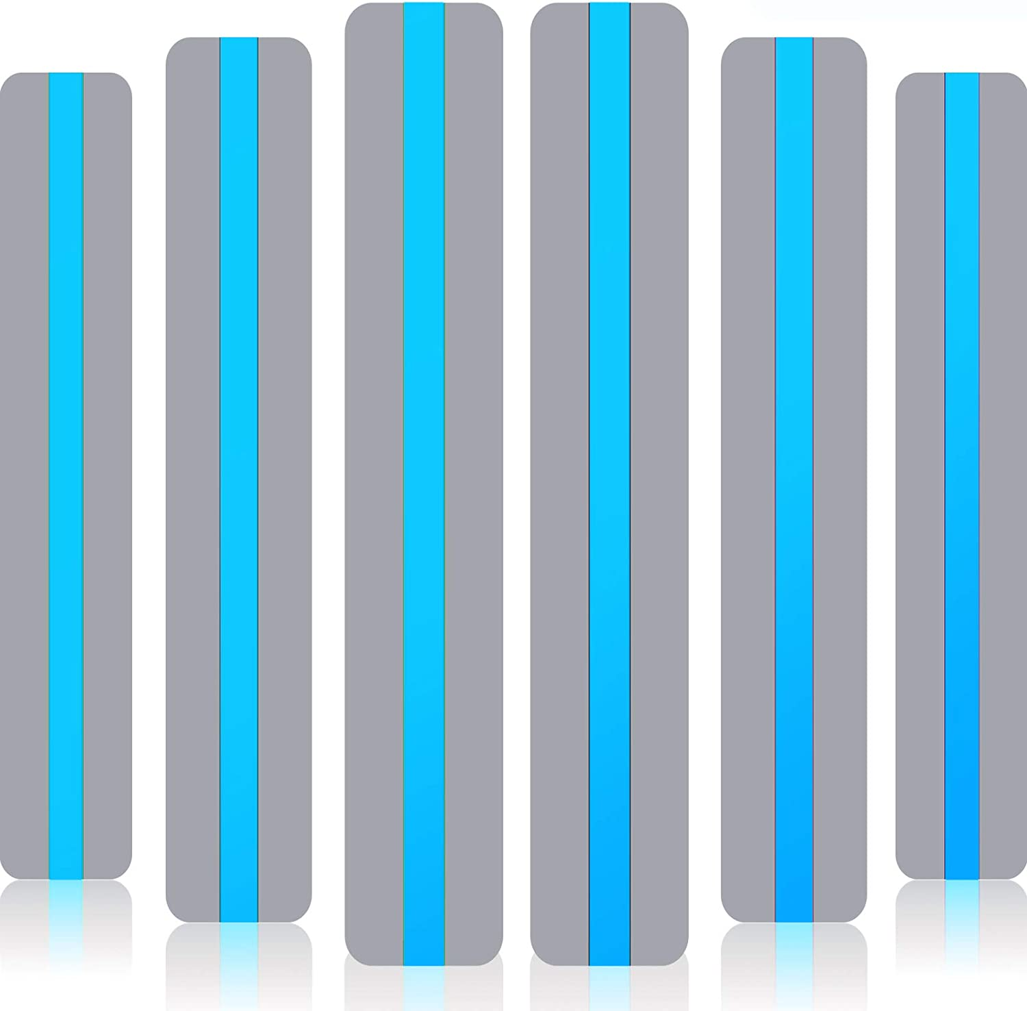 18 Pack Reading Guide Indianapolis Mall Strips Overlay Bookmarks half Highlight Colored