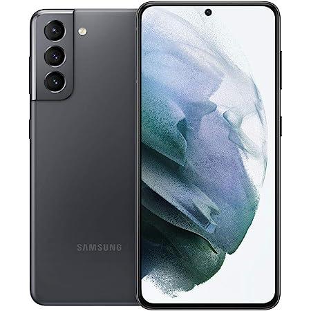 Samsung Electronics Samsung Galaxy S21 5G | Factory Unlocked Android Cell Phone | US Version 5G Smartphone | Pro-Grade Camera, 8K Video, 64MP High Res | 128GB, Phantom Gray (SM-G991UZAAXAA)